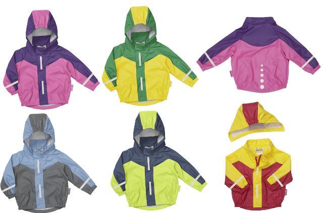 Dětská nepromokavá bunda barevná