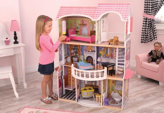 """Dřevěný domeček pro panenky """"Magnolia"""""""