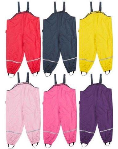 Dětské nepromokavé kalhoty lacláčové