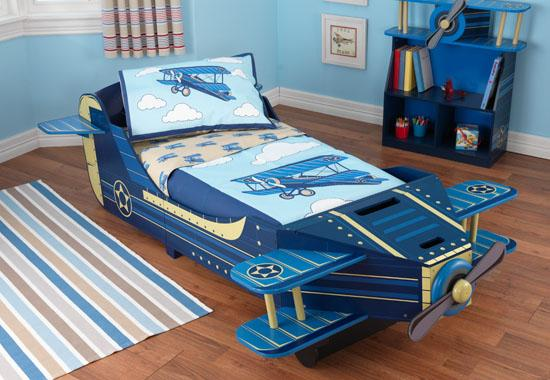 """Dětská postel dřevěná """"Letadlo"""" - poštovné zdarma"""