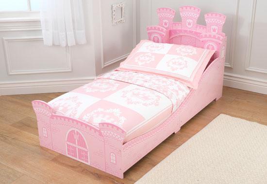 Dětská postel dřevěná - Princeznovský hrad