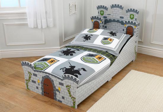 Dětská postel dřevěná - Středověký hrad