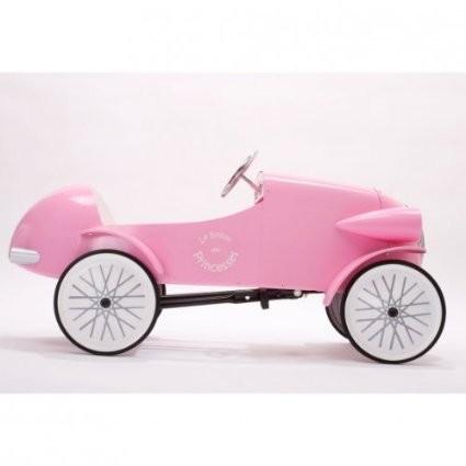 Šlapací auto BAGHERA LE MANS ROSE