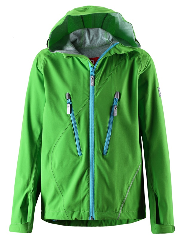 Chlapecká jarní bunda Reima Saves - grass green