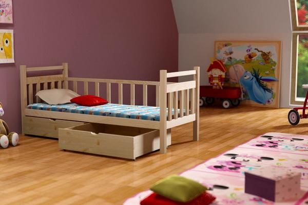Dětská dřevěná postel DP003