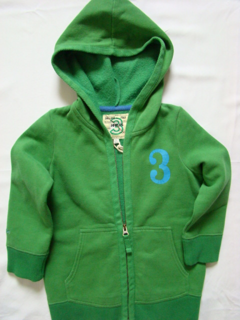 Mikina chlapecká LJ zelená