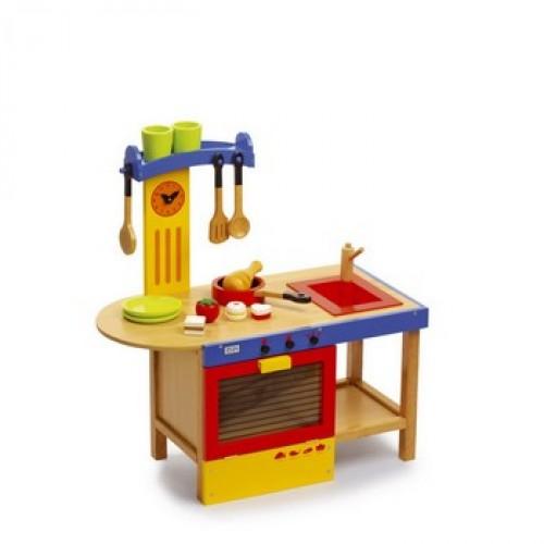 """Dětská kuchyň dřevěná """"Magic!"""
