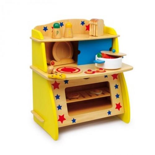 """Dětská kuchyň dřevěná """"Star"""""""