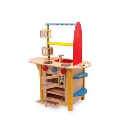 """Dětská dřevěná kuchyňka """"Deluxe"""""""