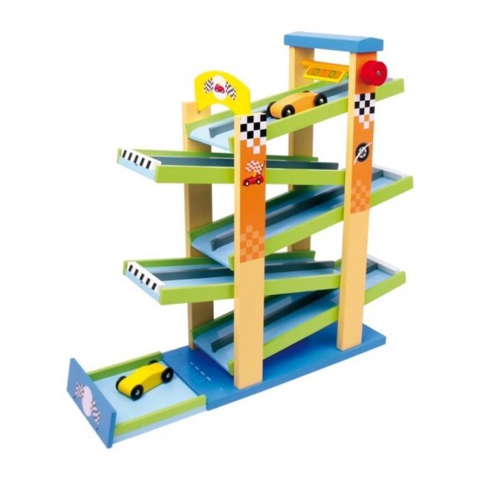 Autodráha dřevěná závodní