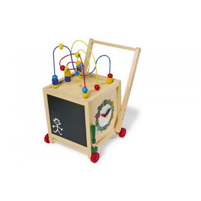 Dřevěná hračka - chodítko motorické