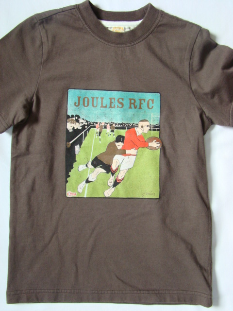 Chlapecké triko LJ hnědé