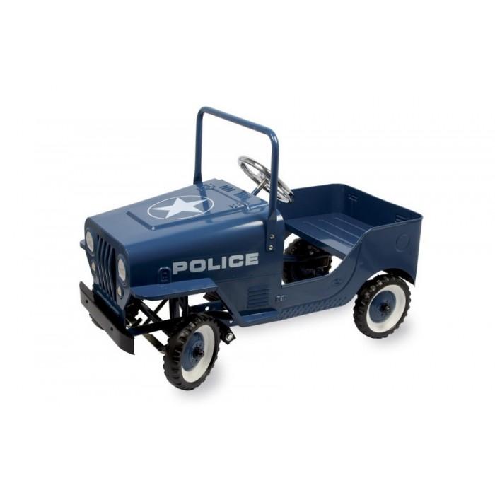 """Šlapací auto kovové """"Police"""""""