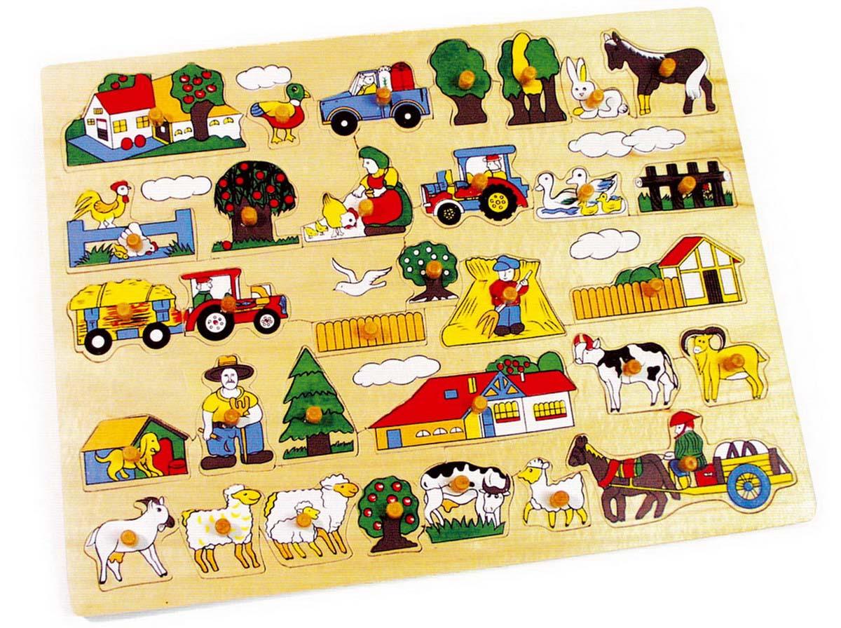 """Puzzle dřevěné """"farma"""""""