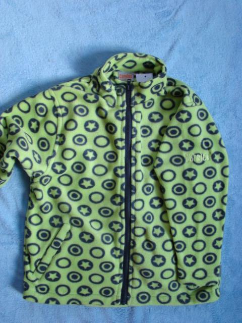 Dětská fleecová bunda - poslední kus vel. 98